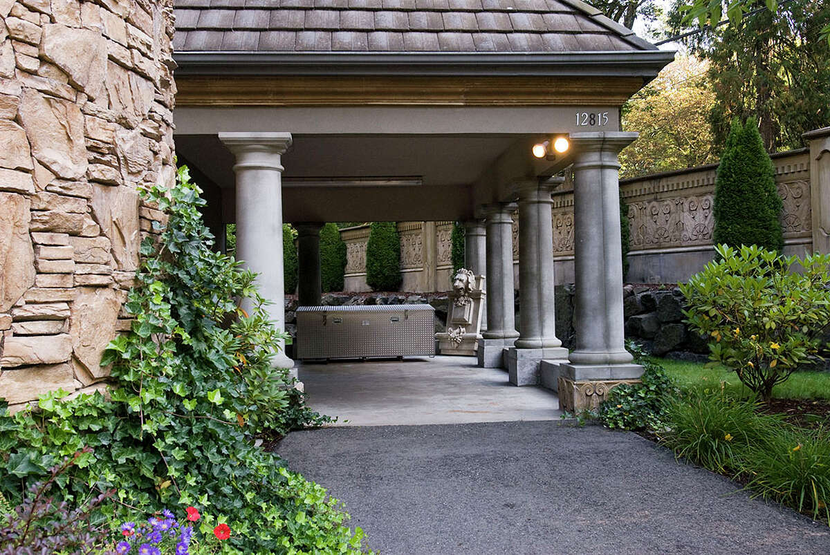Carport of 12815 Issaquah-Hobart Road S.E. It's listed for $679,000.