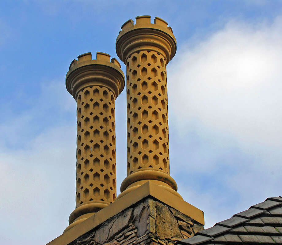 Chimney stacks of 12815 Issaquah-Hobart Road S.E. It's listed for $679,000. Photo: Linda DeMarre