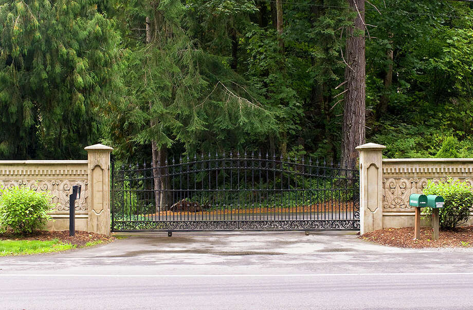 Front gate of 12815 Issaquah-Hobart Road S.E. It's listed for $679,000. Photo: Linda DeMarre