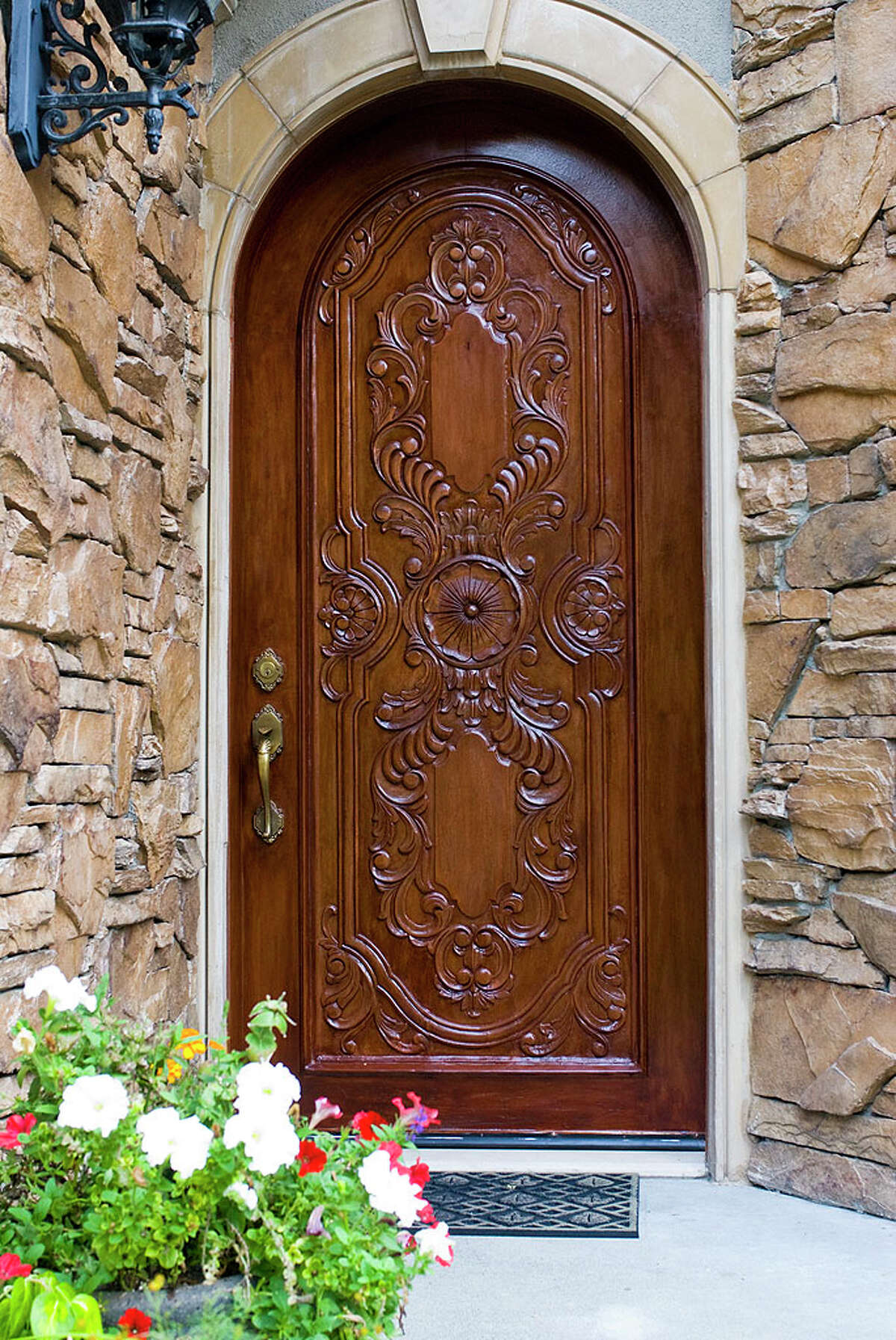 Front door of 12815 Issaquah-Hobart Road S.E. It's listed for $679,000.