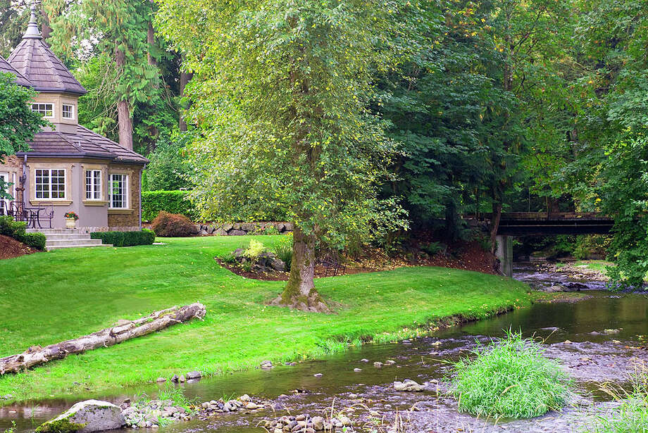 South bridge of 12815 Issaquah-Hobart Road S.E. It's listed for $679,000. Photo: Linda DeMarre