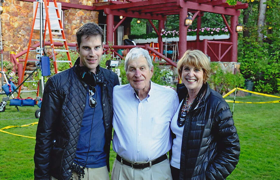 "September 2012. Taken during the filming of ""Last Weekend"" at the Dolby home at Lake Tahoe.