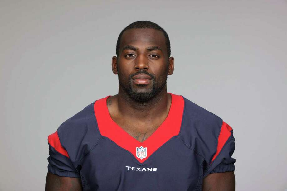 This is a 2013 photo of Whitney Mercilus of the Houston Texans NFL football team. This image reflects the Houston Texans active roster as of Thursday, June 20, 2013 when this image was taken. (AP Photo) Photo: Uncredited, FRE / AP2013