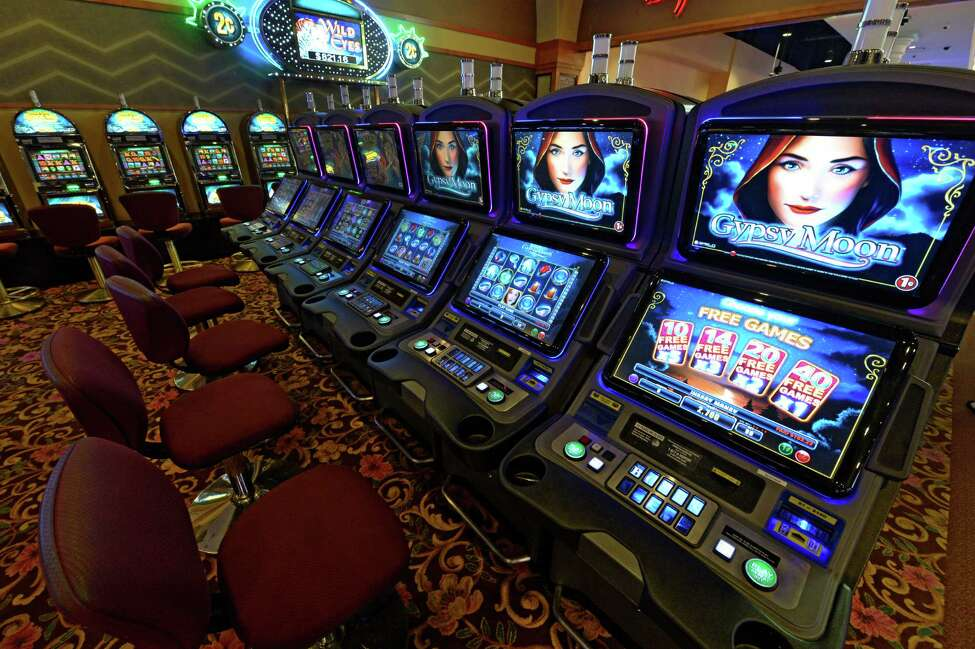 VLT machines at the Saratoga Casino and Raceway Thursday afternoon, Sept. 12, 2013, in Saratoga Springs, N.Y. (Skip Dickstein/Times Union)