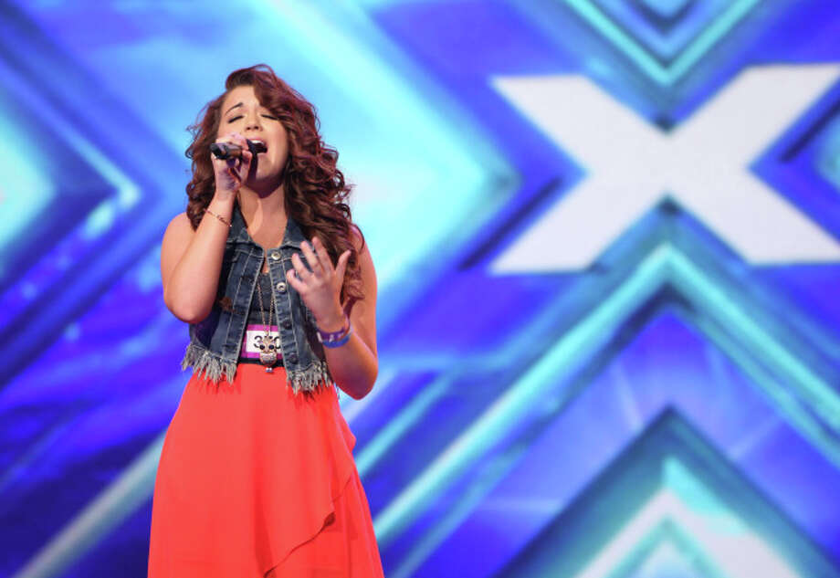 THE X FACTOR: Contestant Rylie Brown pefrorms in front of the Judges on THE X FACTOR airing Thursday, Sep. 12 (8:00-10:00 PM ET/PT) on FOX. CR: FOX. © Copyright 2013 / FOX.