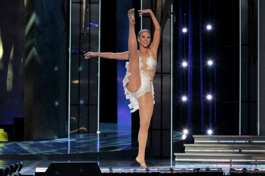 Miss Pennsylvania, Annie Rosellini performs a Lyrical Dance as she  attends 2014 Miss America News Competition - Preliminary Round 1 at Atlantic City Boardwalk Hall on September 11, 2013 in Atlantic City, New Jersey. Photo: Donald Kravitz, Getty Images / 2013 Donald Kravitz