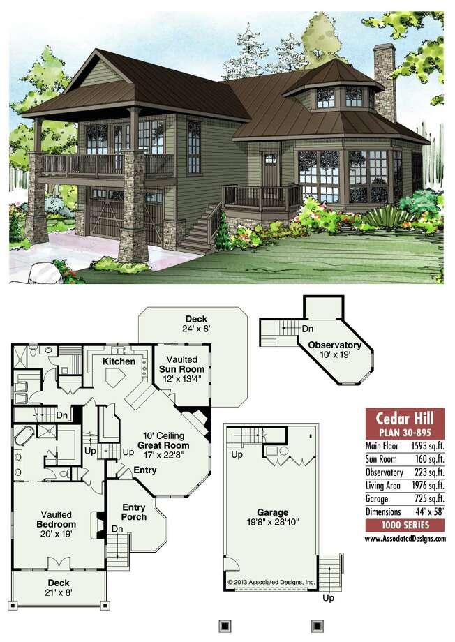 Cedar Hill Plan 30-895