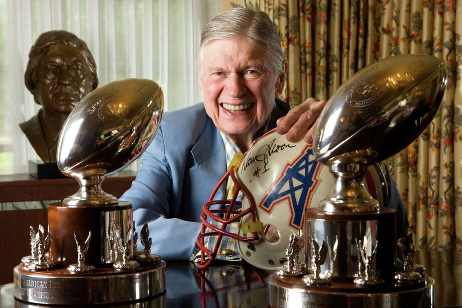 Bud Adams -- The late oil tycoon brought pro football to Houston and he also took it away. For that, he'll be remembered as one of Houston's biggest sports villains. Photo: Brett Coomer, Houston Chronicle / Houston Chronicle