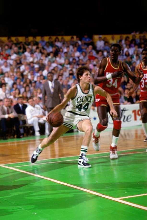 Danny Ainge -- Rockets fans remember him as a dirty player, and a punk to boot. Photo: Dick Raphael, NBAE Via Getty Images