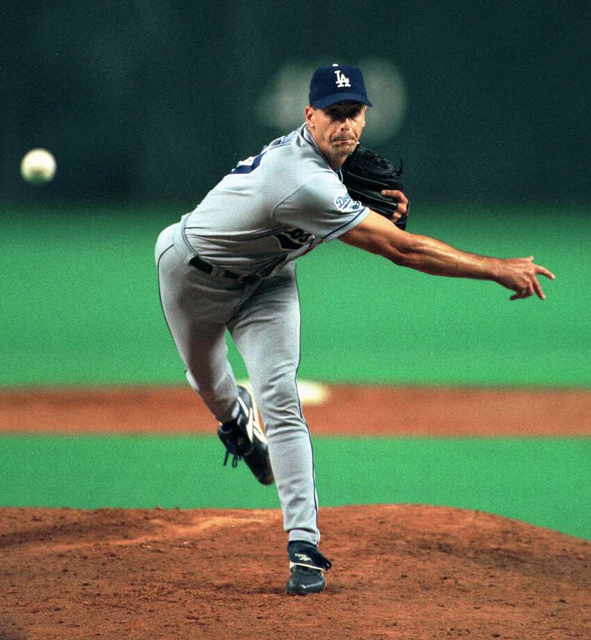Kevin Brown -- He put a hurt on the Astros in the 1999 playoffs, and he was an all-around jerk to boot. Photo: Brett Coomer, Houston Chronicle / AP