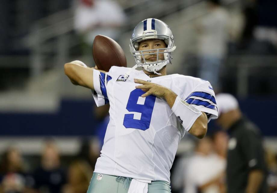Tony Romo -- The Cowboys quarterback (that's reason enough to make the list) remains one of the sports world's biggest punching bags. Photo: Tony Gutierrez, Associated Press