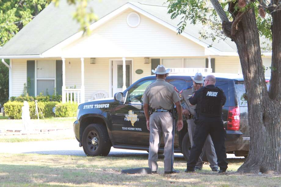 Police stand off at Cooper St. And 1st in Brookshire, TX.