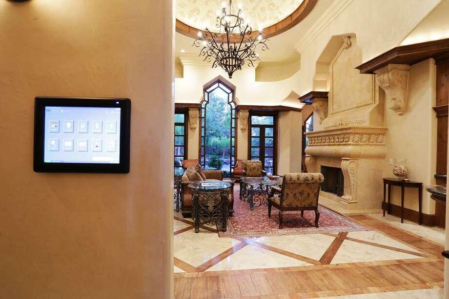 Living room entry