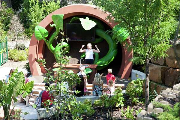 Children S Garden Combines Fun With Learning Houstonchronicle Com