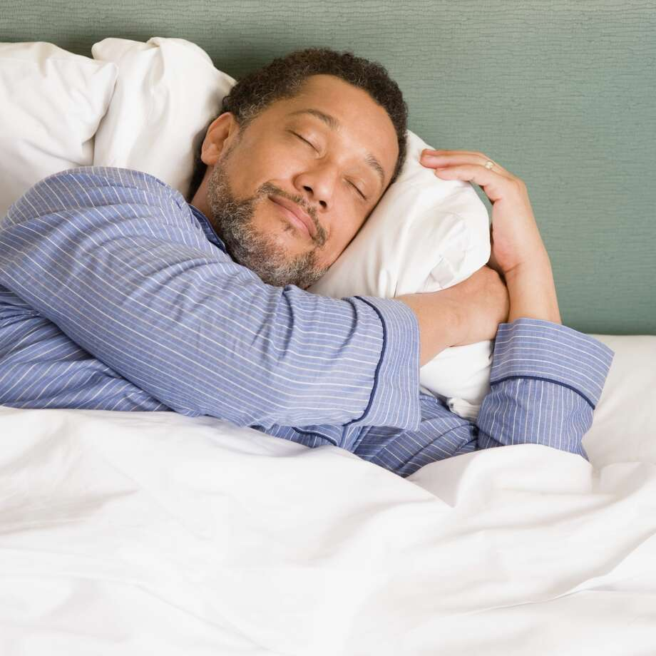 Sleep on itSleep deprived men are more likely to think a woman wants to sleep with him, according to one study. Photo: Stock Photography