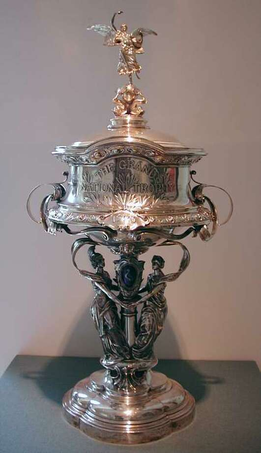 1923 Grand National trophy. (National Museum of Racing and Hall of Fame)