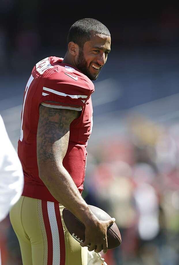 Quarterback Colin Kaepernick and the 49ers beat the Packers. Photo: Marcio Jose Sanchez, Associated Press