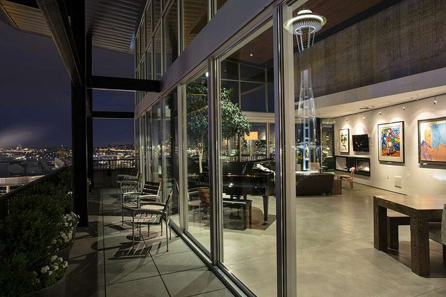 Deck of 2720 Third Ave., penthouse 2. It's listed for $1.995 million. Photo: Courtesy Bob Bennion, Windermere Real Estate