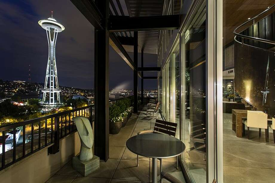 Deck of 2720 3rd Ave., penthouse 2. It's listed for $1.995 million. Photo: Courtesy Bob Bennion, Windermere Real Estate