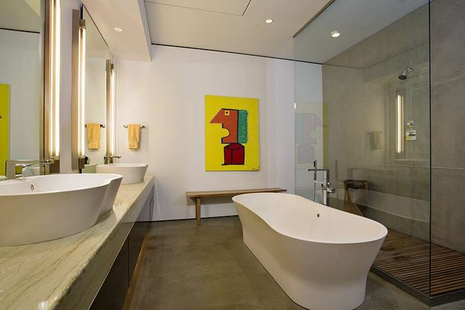 Master bathroom of 2720 Third Ave., penthouse 2. It's listed for $1.995 million. Photo: Courtesy Bob Bennion, Windermere Real Estate