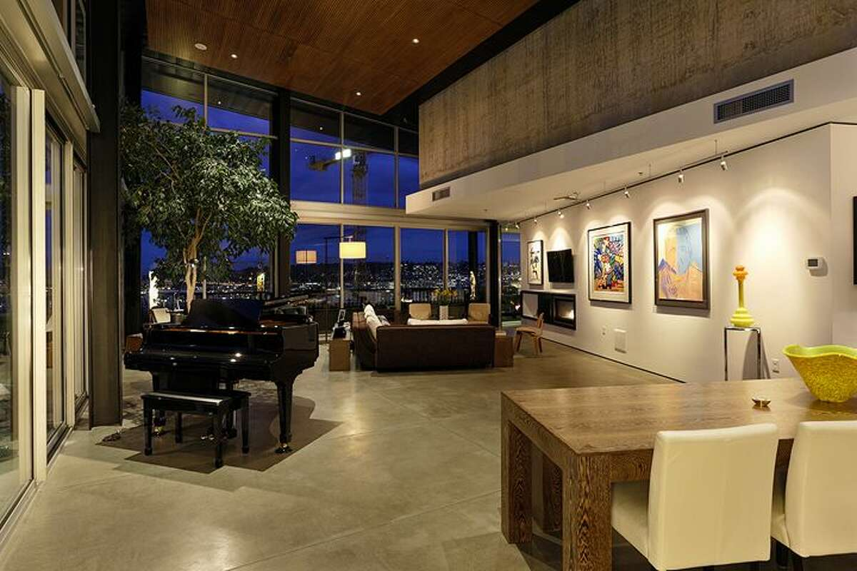 Dining and living rooms of 2720 Third Ave., penthouse 2. It's listed for $1.995 million.