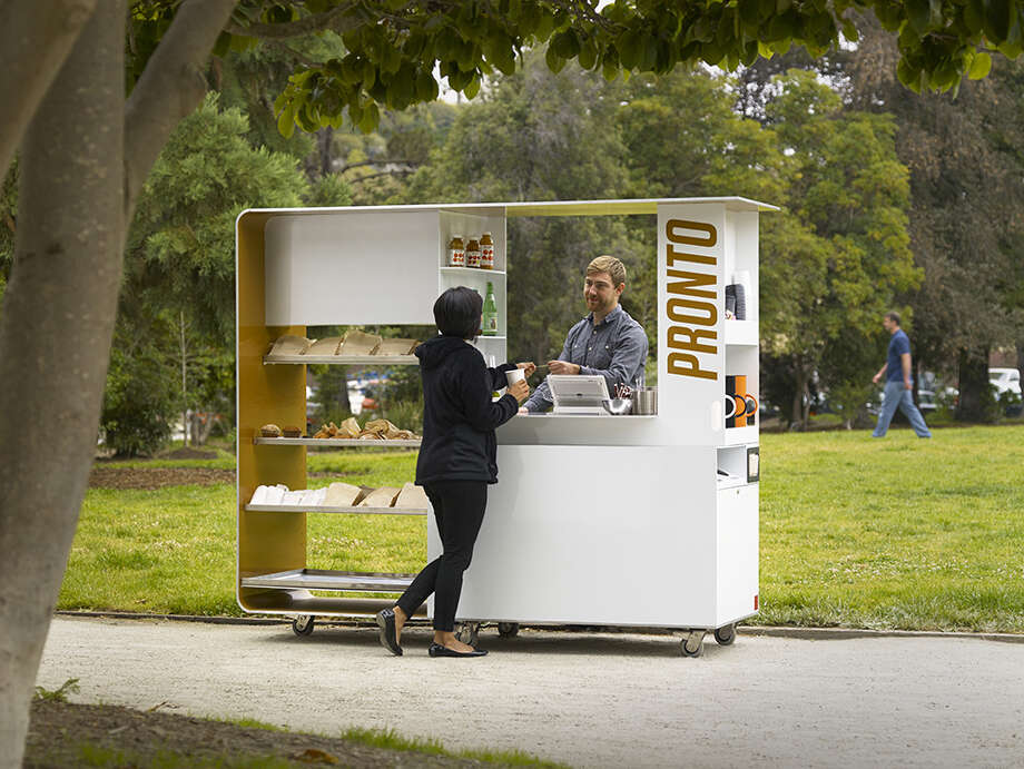 Pronto Kiosk Aidlin Darling Design Photo: John Sutton
