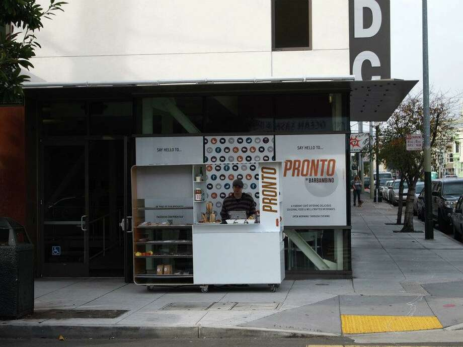Pronto Kiosk Aidlin Darling Design Photo: Bar Bambino