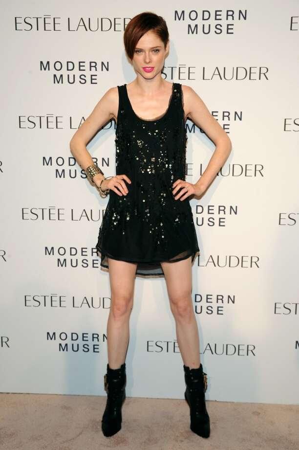 "Model Coco Rocha attends the Estee Lauder ""Modern Muse"" Fragrance Launch Party at the Guggenheim Museum on September 12, 2013 in New York City.  (Photo by Bryan Bedder/Getty Images for Estee Lauder) Photo: Bryan Bedder"