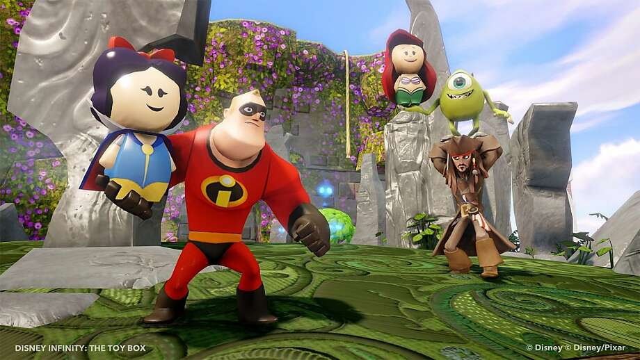 """Disney Infinity"" helped drive a rare four-week increase in video-game sales. Photo: Uncredited, Associated Press"