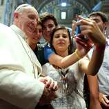 He took the first Papal selfie. Enough said.