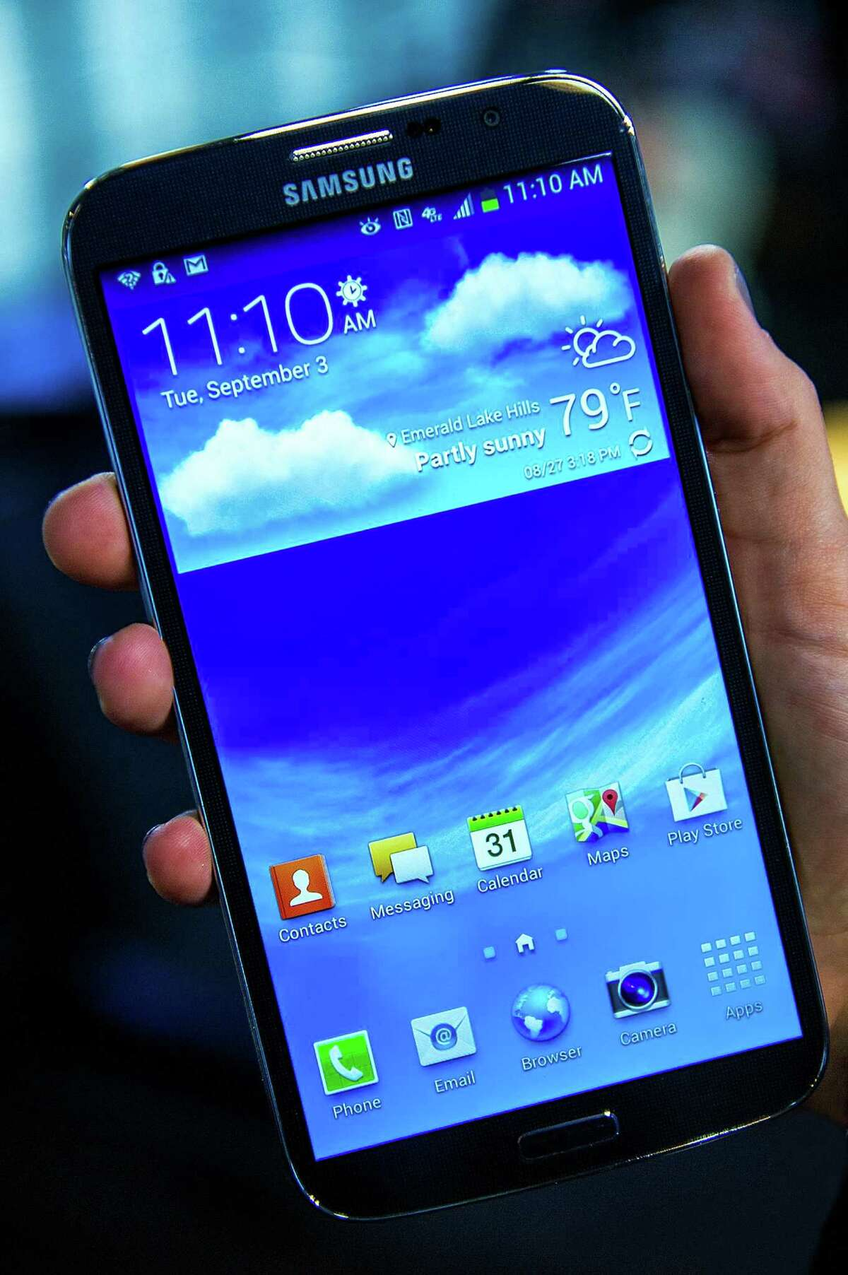 The Samsung Corp. Galaxy Mega is two devices, phone and tablet, in one.