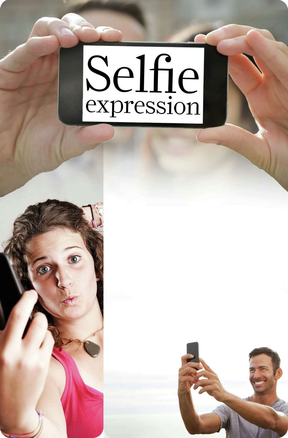 Selfies expression