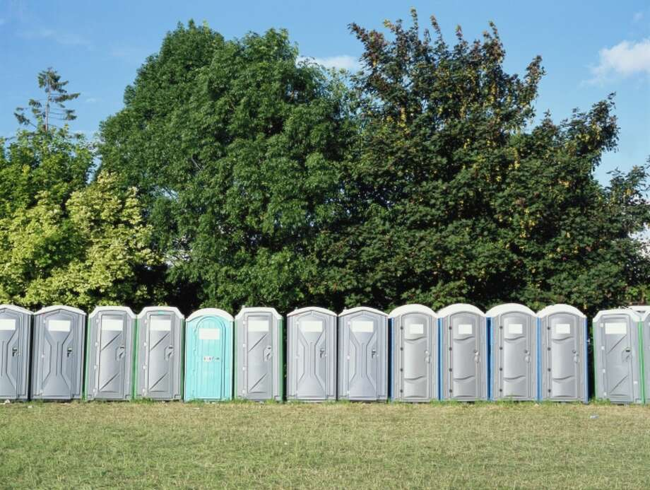 No cutting in line at the portable toilets. None. Regardless of the scenario. Ever. We'll punch you. Photo: Getty Images