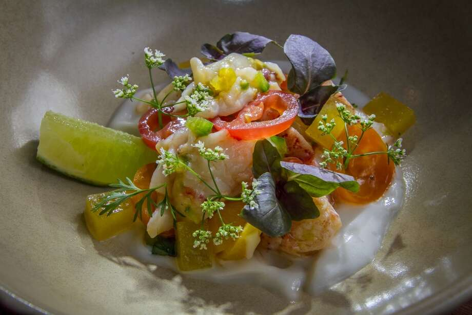 The Lobster Ceviche ($16) at 1760 in San Francisco. Photo: John Storey, Special To The Chronicle