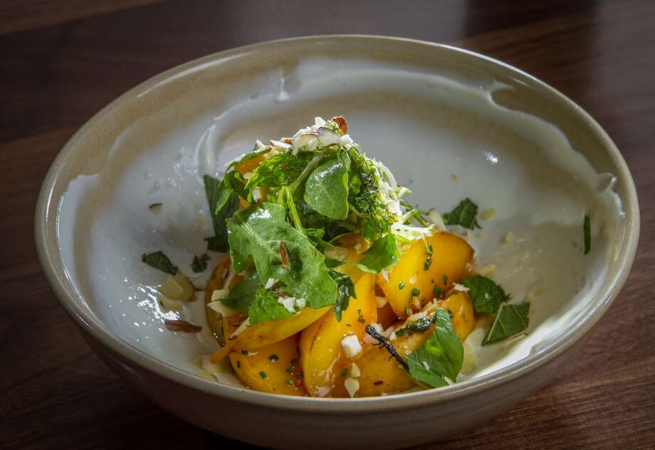 The Sauteed Peaches ($11) at 1760 in San Francisco. Photo: John Storey, Special To The Chronicle
