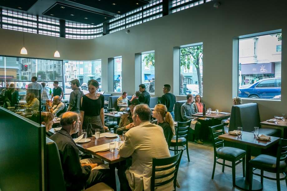 People have dinner at 1760 in San Francisco. Photo: John Storey, Special To The Chronicle