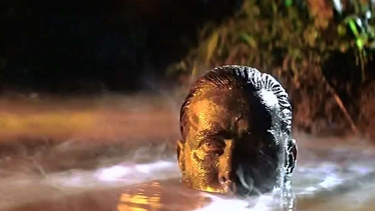 APOCALYPSE NOW * Monsoons * Lead Martin Sheen suffered a heart attack while filming * Took two years to edit * Marlon Brando showed up overweight and not knowing his lines; he had to be filmed in tight shots with a body double for wider shots * Francis Ford Coppola threatened to kill himself many times