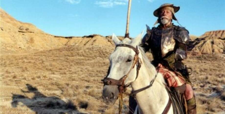 THE MAN WHO KILLED DON QUIXOTE (never finished)  * The audio for the entire first location shoot near a military base in Spain had to redubbed due to near-constant fighter jets overhead * A flash flood on the second day of filming ruined equipment and changed the color of the landscape, making previously shot film unusable * French actor Jean Rochefort, who spent seven months learning English for the role of Don Quixote after a two-year casting search by director Terry Gilliam, suffered a double herniated disc on set and had to pull out * The film  was abandoned and several subsequent attempts at reviving it failed also