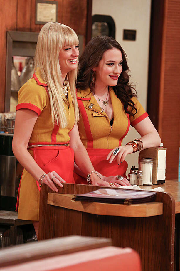2 Broke Girls: Returns Sept. 23  CBS, 8 p.m. Photo: Michael Yarish, ©2013 CBS Broadcasting, Inc. All Rights Reserved. / Ã?©2013 CBS Broadcasting, Inc. All Rights Reserved.