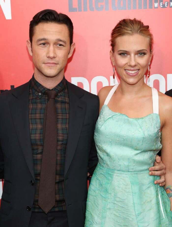 "Scarlett Johansson and Joseph Gordon-Levitt attend the ""Don Jon"" New York premiere at SVA Theater on September 12, 2013 in New York City.  (Photo by Rob Kim/Getty Images) Photo: Rob Kim, Getty Images"