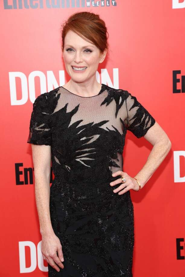"Julianne Moore attends the ""Don Jon"" New York premiere at SVA Theater on September 12, 2013 in New York City.  (Photo by Rob Kim/Getty Images) Photo: Rob Kim, Getty Images"
