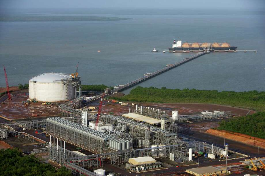 Because of the recent breakthroughs in shale gas exploration and development, the U.S. now has an opportunity to export LNG and create thousands of new permanent jobs in the process. Shown is a liquefaction plant.