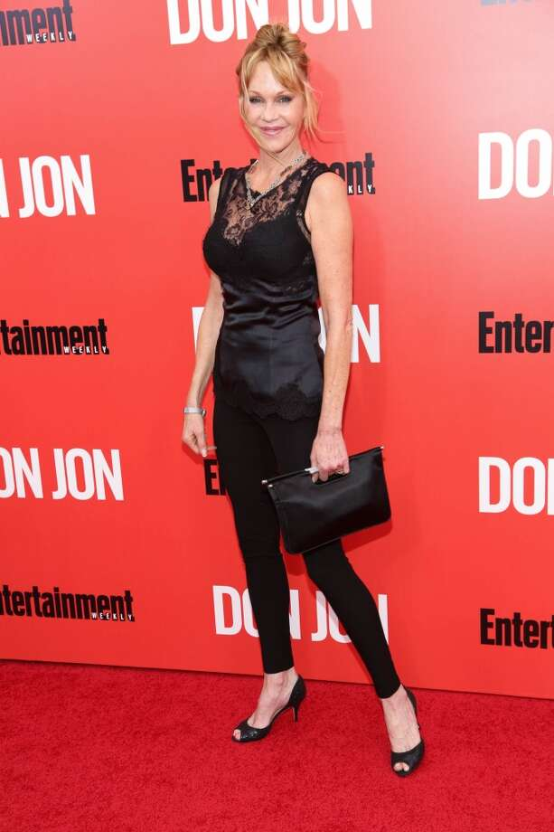 "Melanie Griffith attends the ""Don Jon"" New York premiere at SVA Theater on September 12, 2013 in New York City.  (Photo by Rob Kim/Getty Images) Photo: Rob Kim, Getty Images"