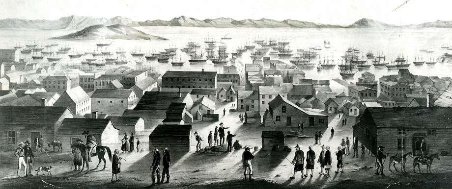 Gold Rush San Francisco. Photo: Chronicle Archive, The Chronicle