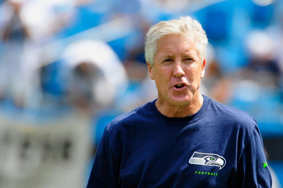 "On if his one-play-at-a-time mentality meshes with Pete Carroll's message:  ""I think that it's meshed a lot and it's also heightened it. We both talk about it, I've always talked about it in college, I've always talked about it growing up -- my dad and my mom always talked about that. Just living one day at a time, just trying to do the best you can, just try to live one play at a time. Salvage the play if it's not there -- that's OK too, especially playing the quarterback position.  ""I think sometimes that when the situation's on the line, when you still have time on the clock .... There's some times when you just have to make a throw; there is no time on the clock. There's other situations where, you know, you've got three minutes left and the game's on the line, and something may not be there. You may just have to throw it away, and then trust that your defense is going to make the stop, and which I do every time. We've got a great defense and I trust that Richard Sherman back there is going to make a pick and get us the ball back, and then we have a shot to do something great.    ""And so I think that is kind of the mentality: You have to be relaxed, you have to understand the situation, you have to understand the score, and you have to trust your teammates and trust your coaching staff that they are going to put you in a great situation."" Photo: Grant Halverson, Getty Images"