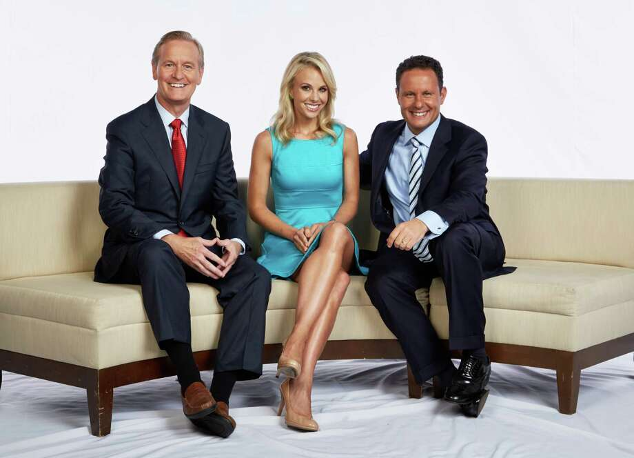 "Elisabeth Hasselbeck debuts as Steve Doocy, left, and Brian Kilmeade's new partner on ""Fox & Friends"" Monday. Photo: Alex Kroke, HOEP / Fox News"