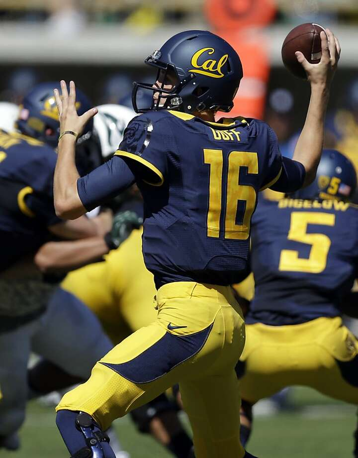 Unlike many of the country's major college football programs, Cal and freshman Jared Goff play a relatively tough schedule. Photo: Ben Margot, Associated Press