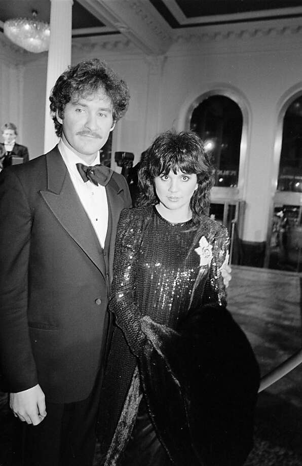 "Kevin Kline and Linda Ronstadt at the ""Pirates of Penzance"" premiere in 1983. (Photo by Time & Life Pictures/Getty Images) Photo: Time & Life Pictures"