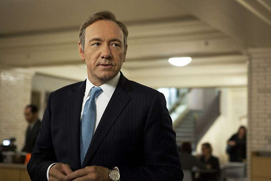 "Kevin Spacey plays Rep. Frank Underwood in the Netflix original series ""House of Cards."" Photo: Melinda Sue Gordon, Associated Press"