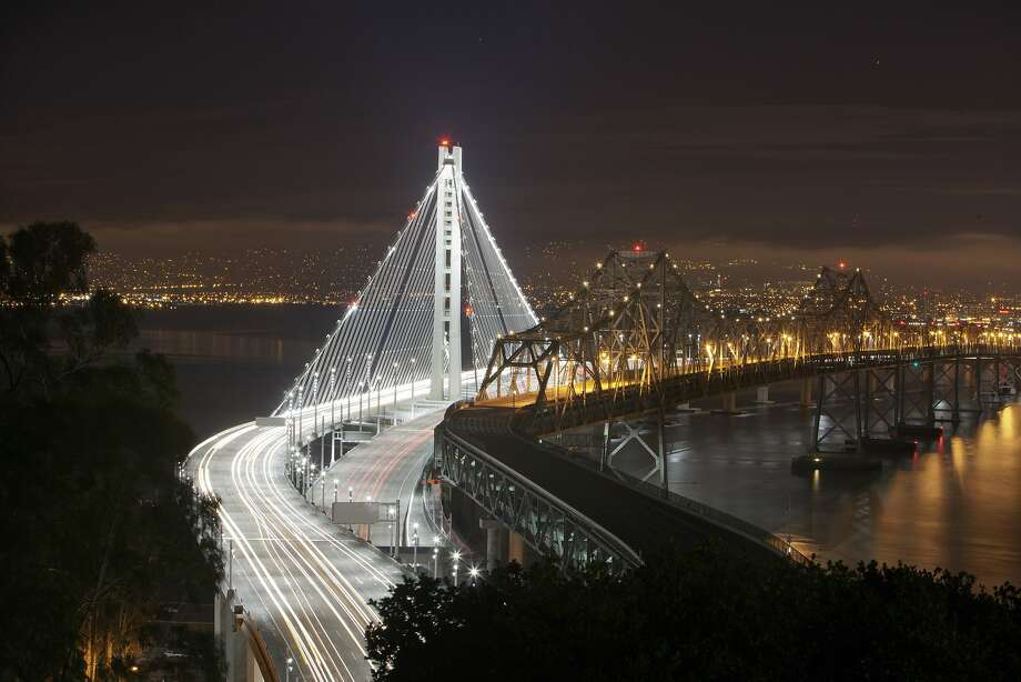 The $10 million spent to monitor questionable Bay Bridge bolts this year may be just the beginning. Photo: Carlos Avila Gonzalez, The Chronicle